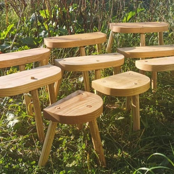Selection of Vikig Lund stools